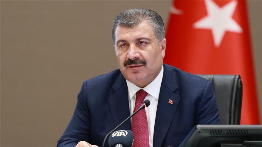 Bakan Koca: Türkiye'de toplam aşılanan kişi sayısı 100 bini geçti