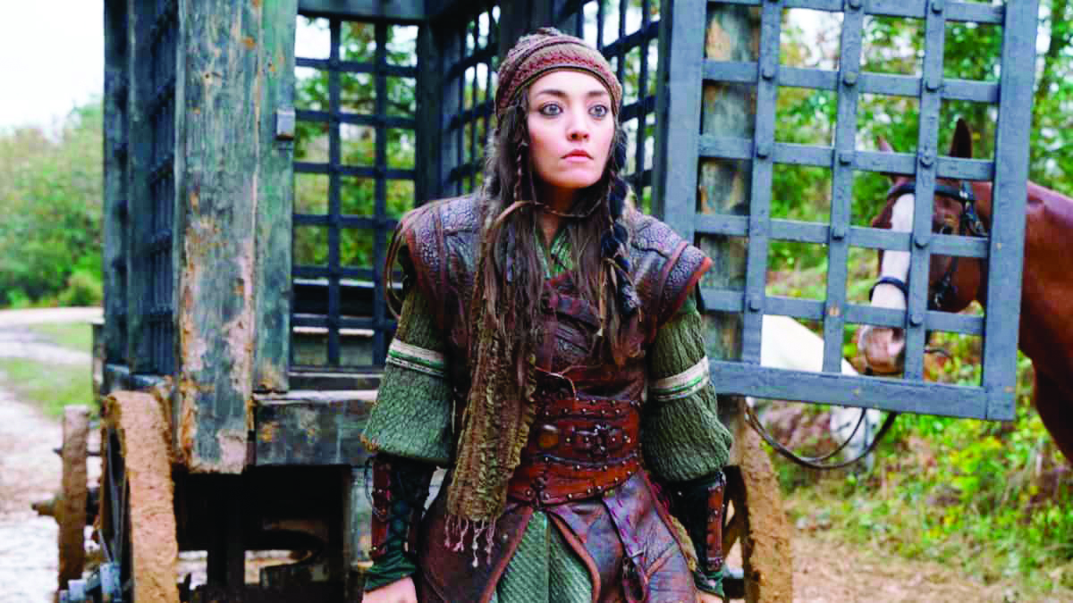 Kuruluş Osman'ın Targun Hatun'u Zeynep Tuğçe Bayat rolü hakkında konuştu: Zorlandım ama...