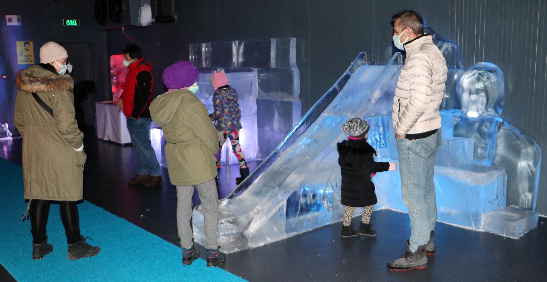 Buzun sanata dönüştüğü müze