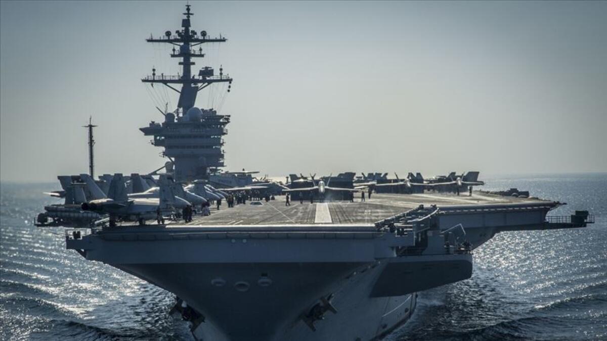 ABD gemisinde koronavirüs paniği: Askerler karantinaya alındı