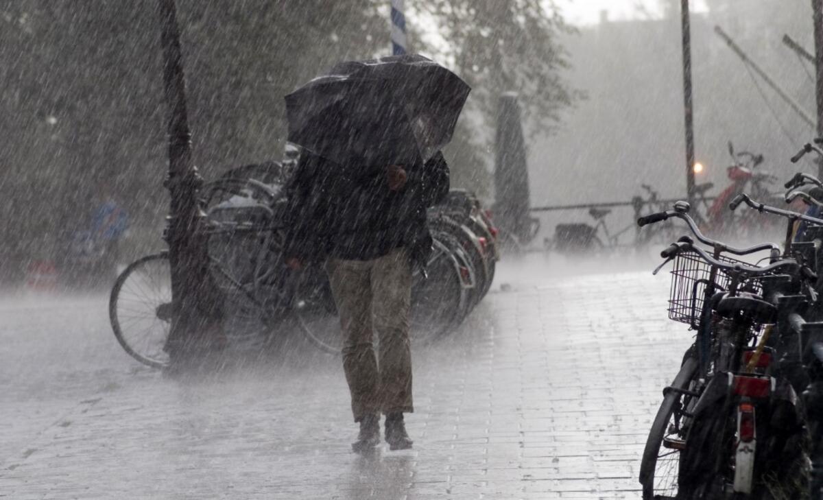 Yağmur ve fırtına geliyor...