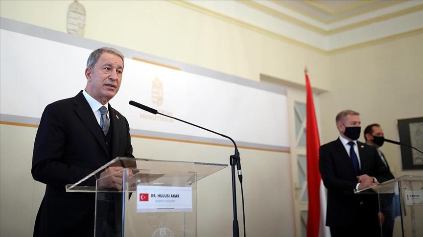 Bakan Akar'dan Avrupa Birliği mesajı: Stratejik hedefimiz