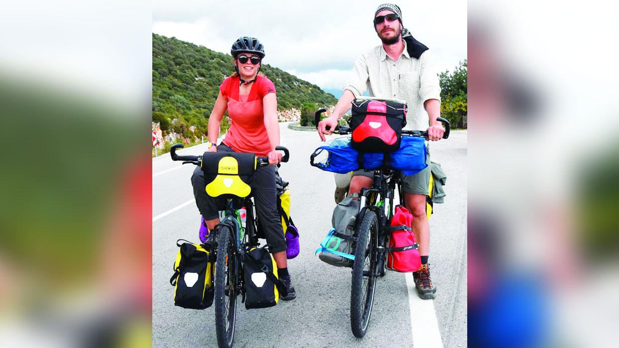 Bisikletle 6 bin kilometre yolculuk