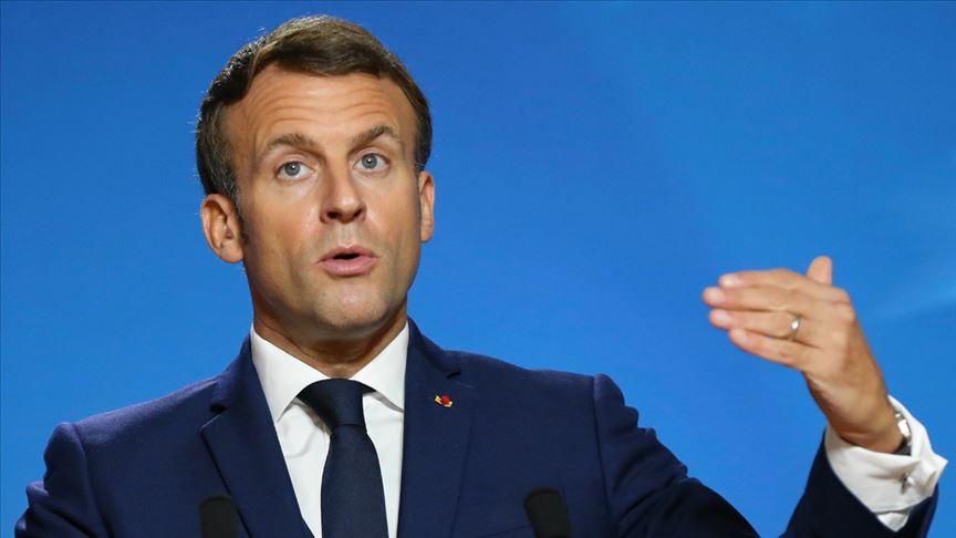Macron: Rusya ile katı diyalog olmazsa Avrupa'da barış, güvenlik ve istikrar sağlanamaz