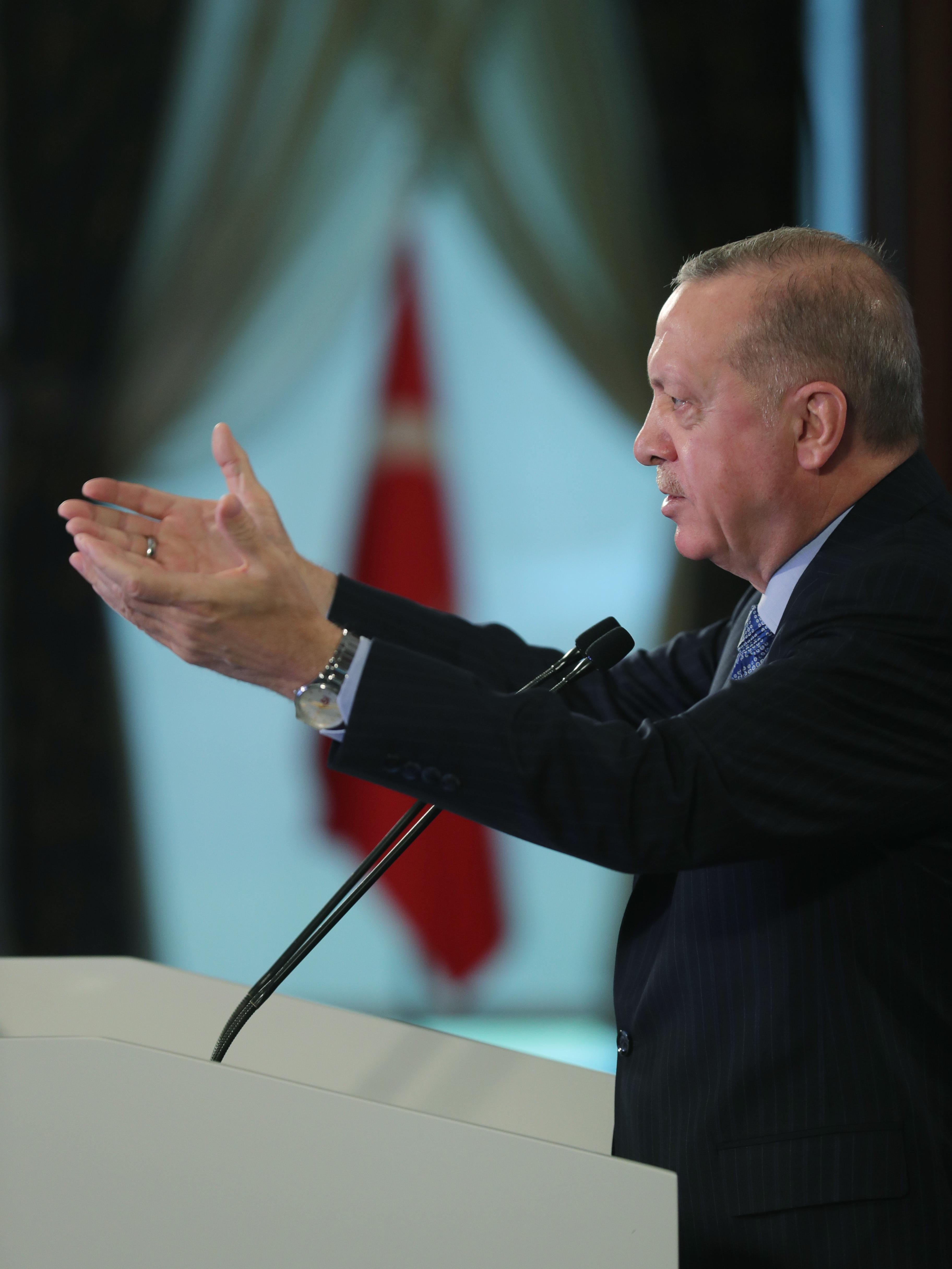Başkan Erdoğan'dan partilere yeni anayasa çağrısı