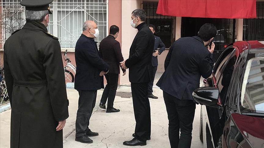 Milli Eğitim Bakanı Selçuk'tan, şehit ailelerine taziye ziyareti