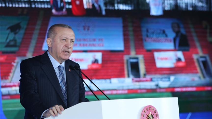 Başkan Erdoğan: 81 ilde bugüne kadar 1,5 milyon konutun dönüşümünü tamamladık