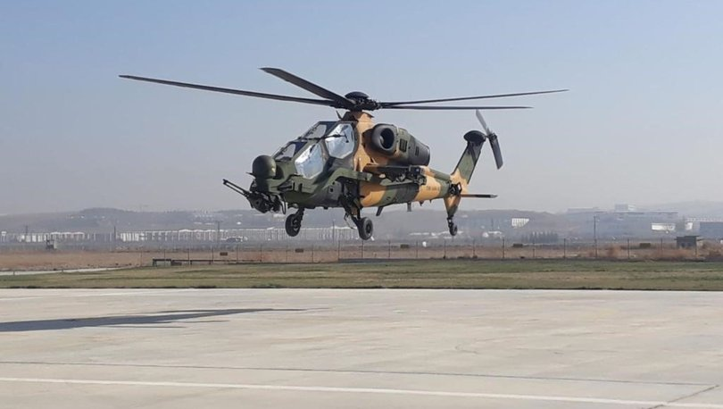 İkinci T-129 ATAK helikopteri, Kara Kuvvetleri Komutanlığının envanterine girdi