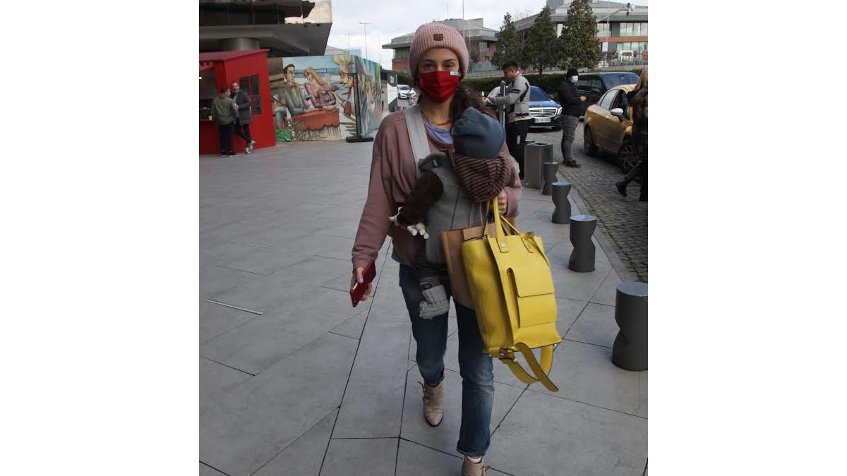 Anne-oğul alışverişte