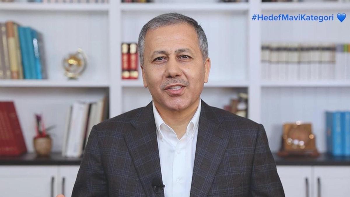 İstanbul Valisi Ali Yerlikaya: Hedefimiz mavi kategori...