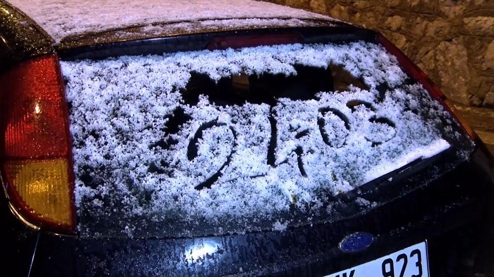 İstanbul ve Ankara'da kar yağışı!