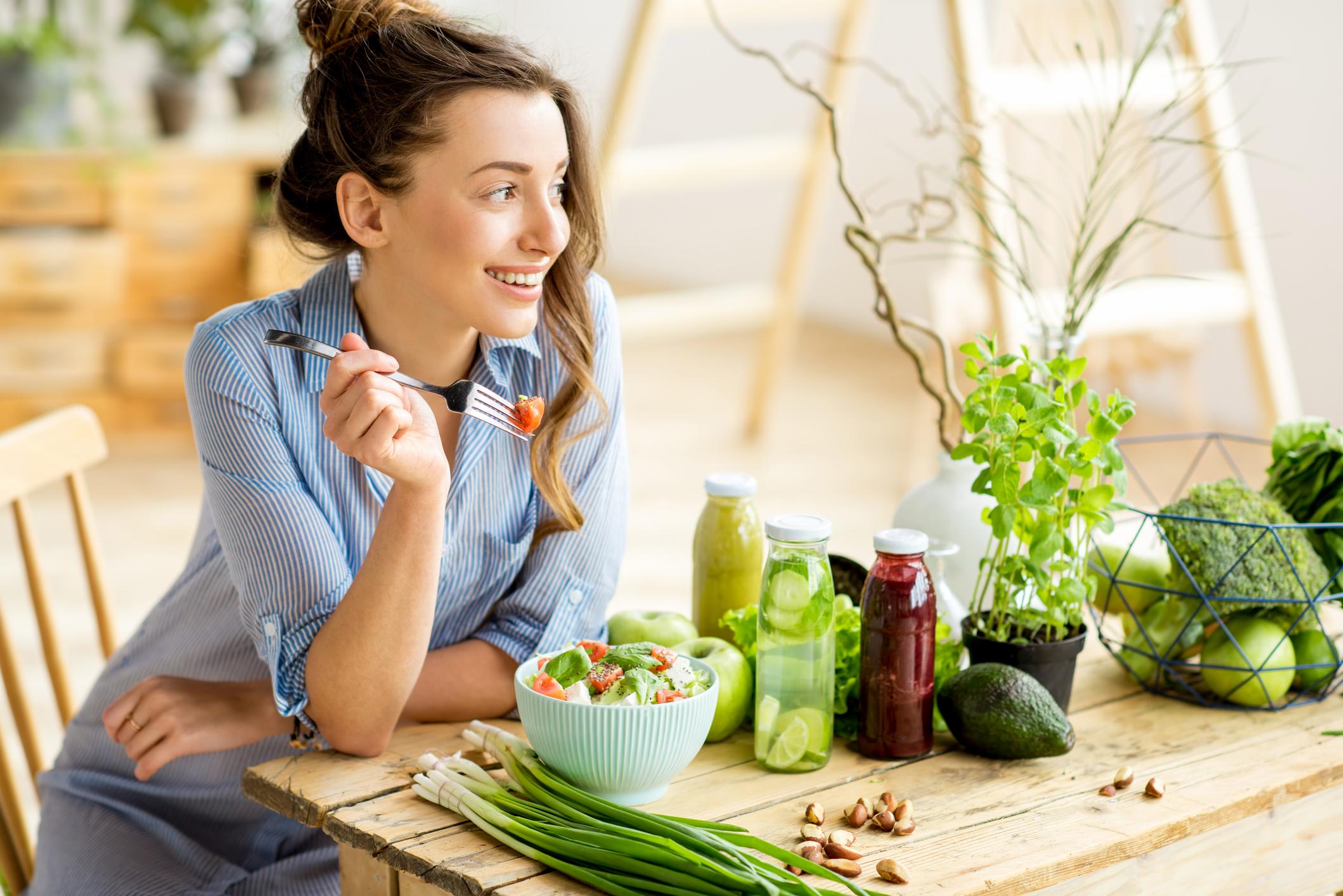 Güçlü bağışıklık için renkli beslenin