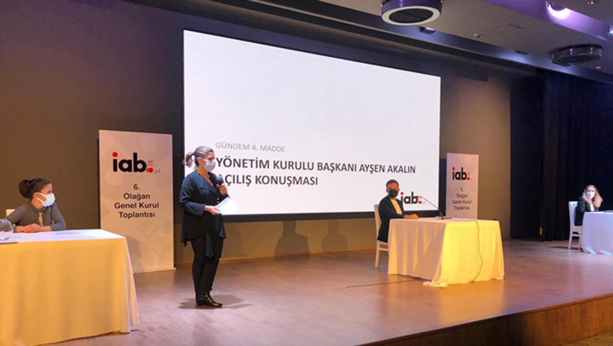 IAB 6. Olağan Genel Kurulu gerçekleşti