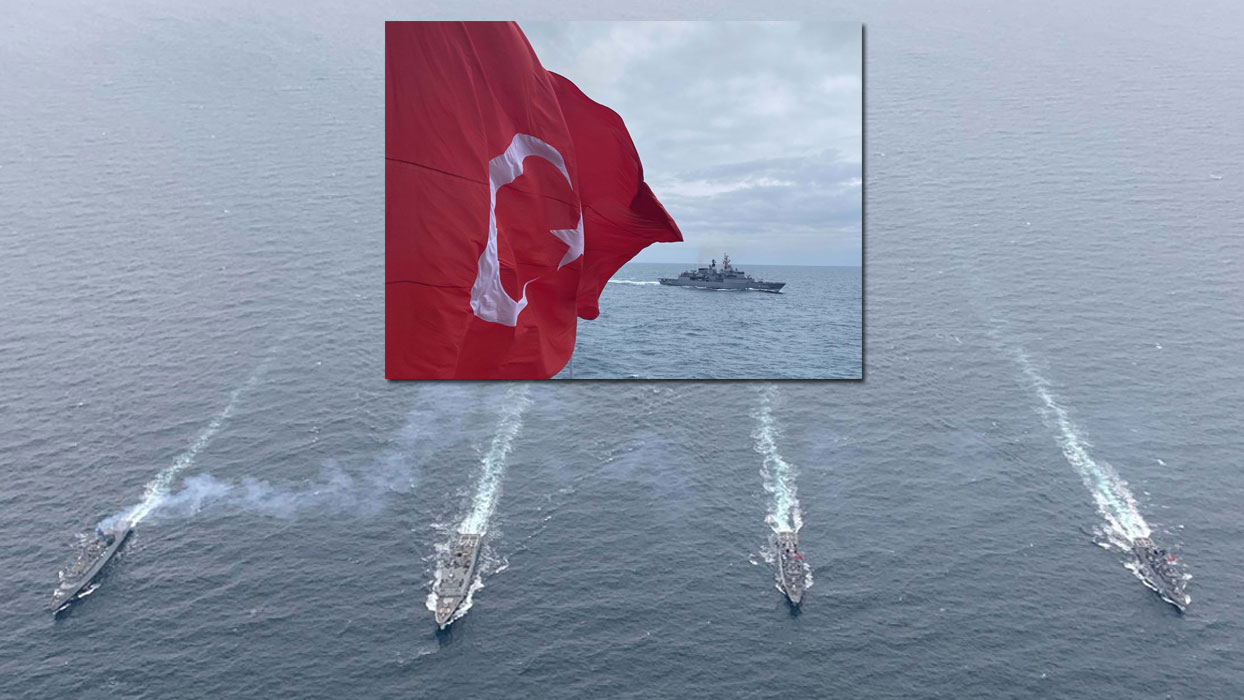 TCG YAVUZ fırkateyni, NATO Daimi Deniz Görev Grubu-2 unsurlarıyla geçiş eğitimleri icra etti
