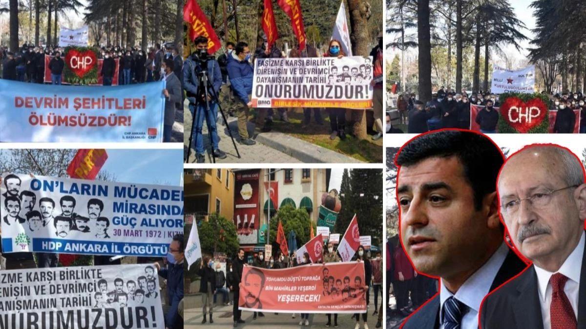 Bu da Mahir Çayan ittifakı! CHP, HDP ve sol örgütler bir arada