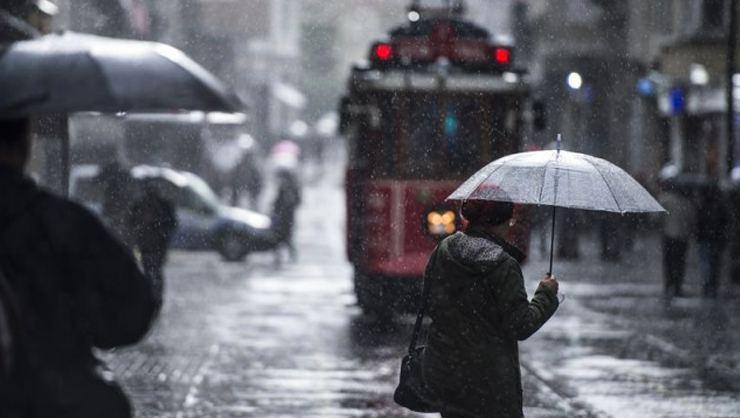Meteorolojiden İstanbul'a yağış uyarısı: Kuvvetlenerek sürecek