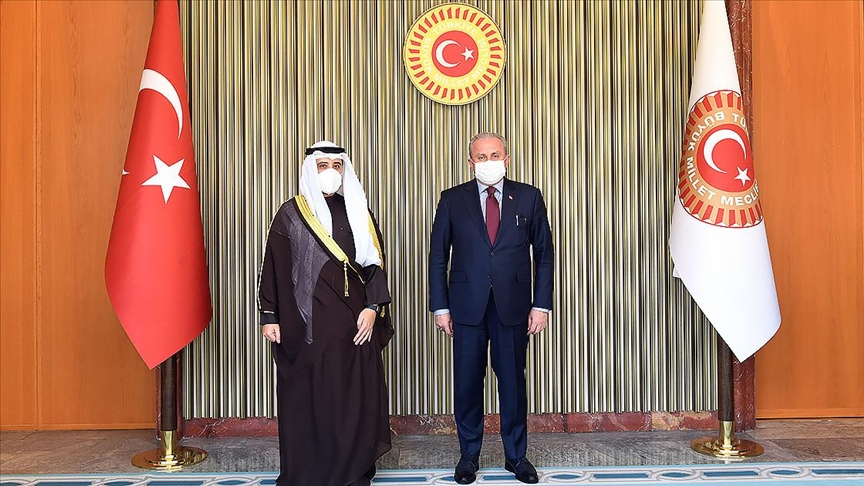 TBMM Başkanı Şentop: Türkiye olarak Körfez'de ve Ortadoğu'daki bütün ülkelerle diyaloğa ön şartsız olarak hazırız