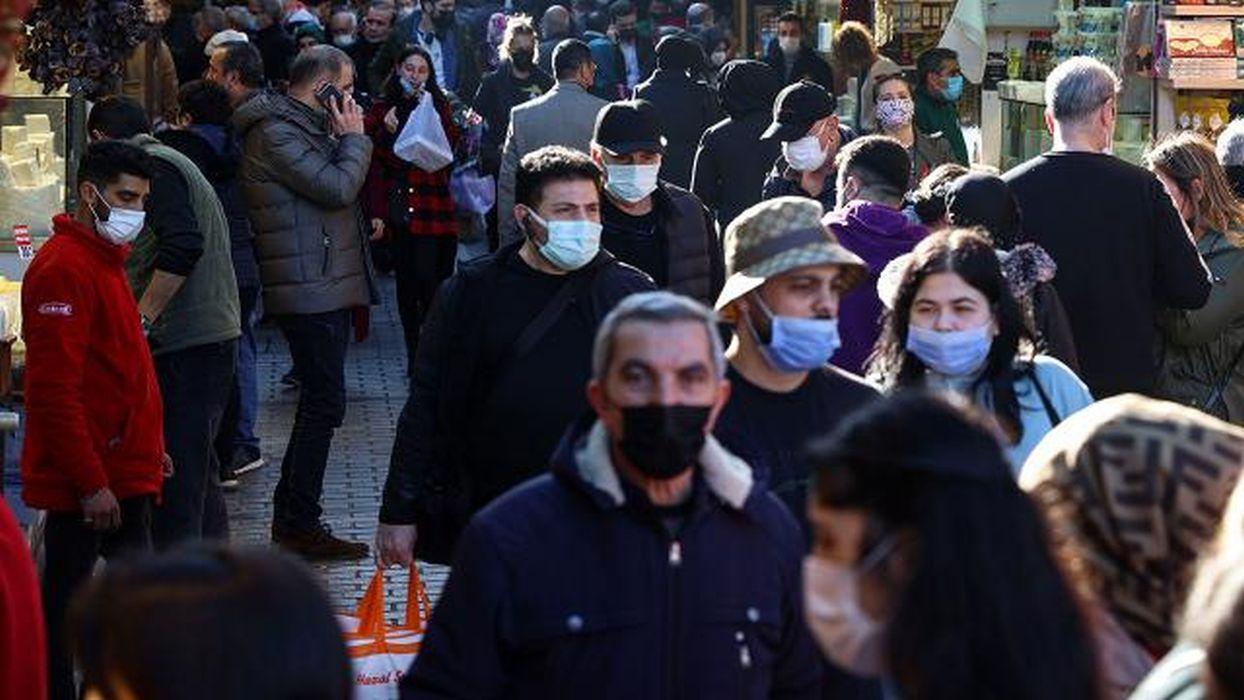 Türkiye'de son 24 saatte 38 bin 553 yeni vaka tespit edildi