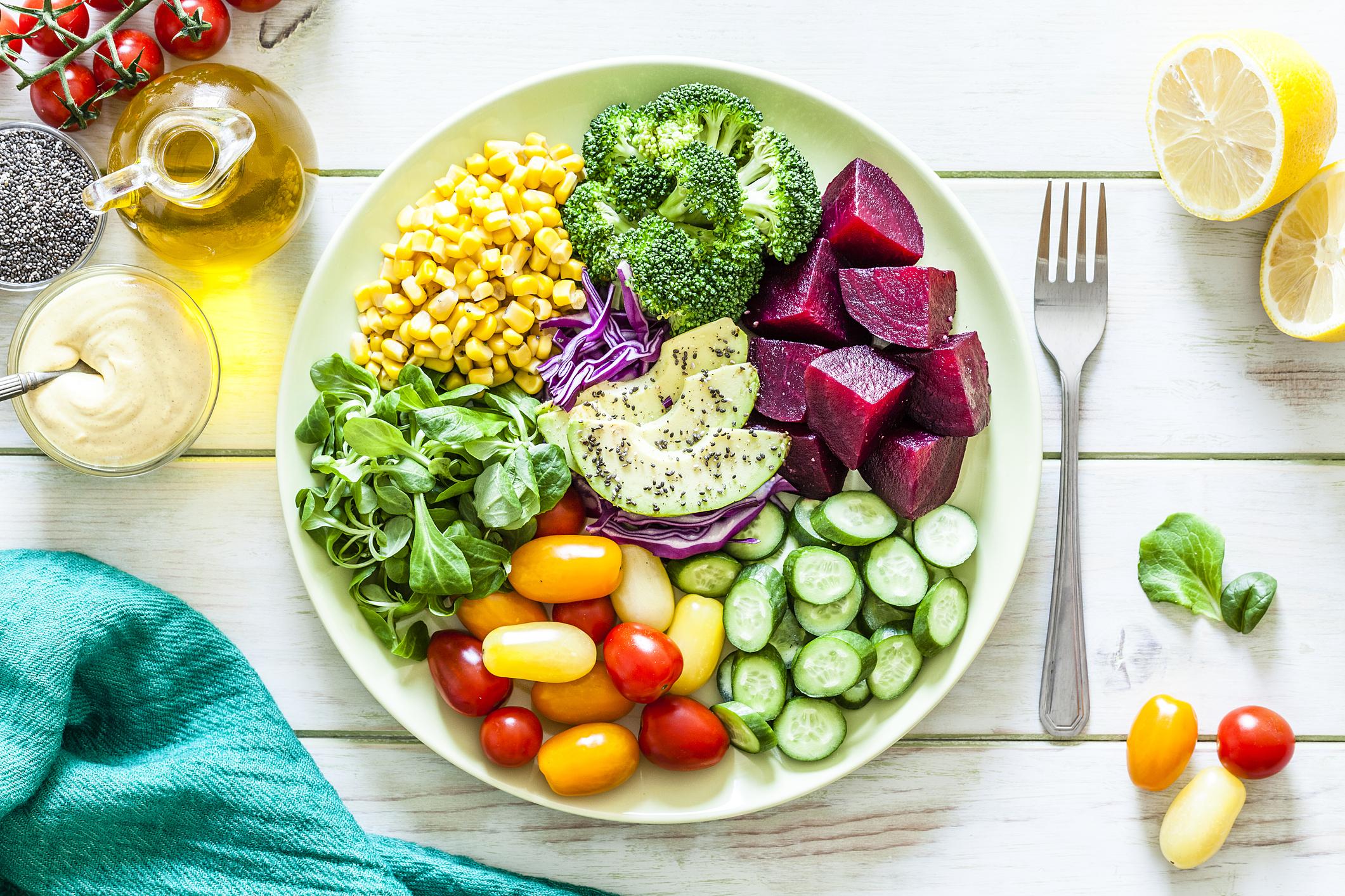 Sağlık için tabaklarınız 'renkli' olsun