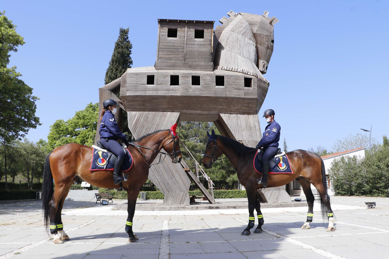 Troya'ya atlı güvenlik