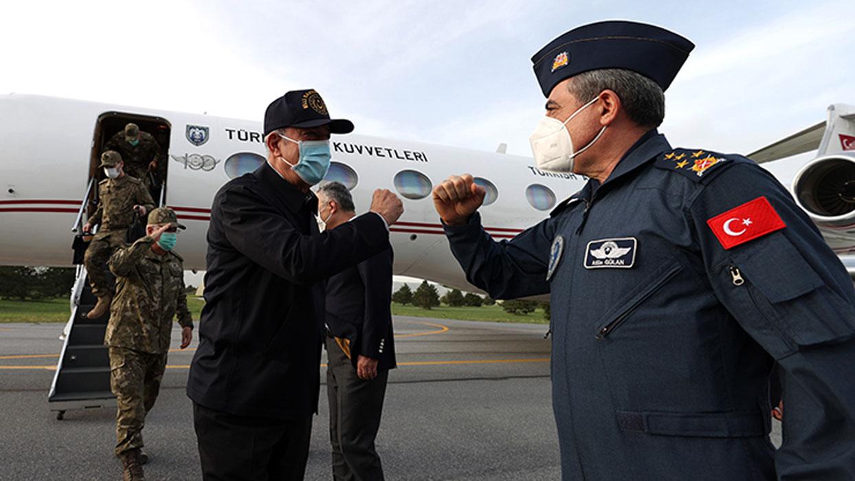 Muharip Hava Kuvveti Komutanlığının bulunduğu Eskişehir'e geldi