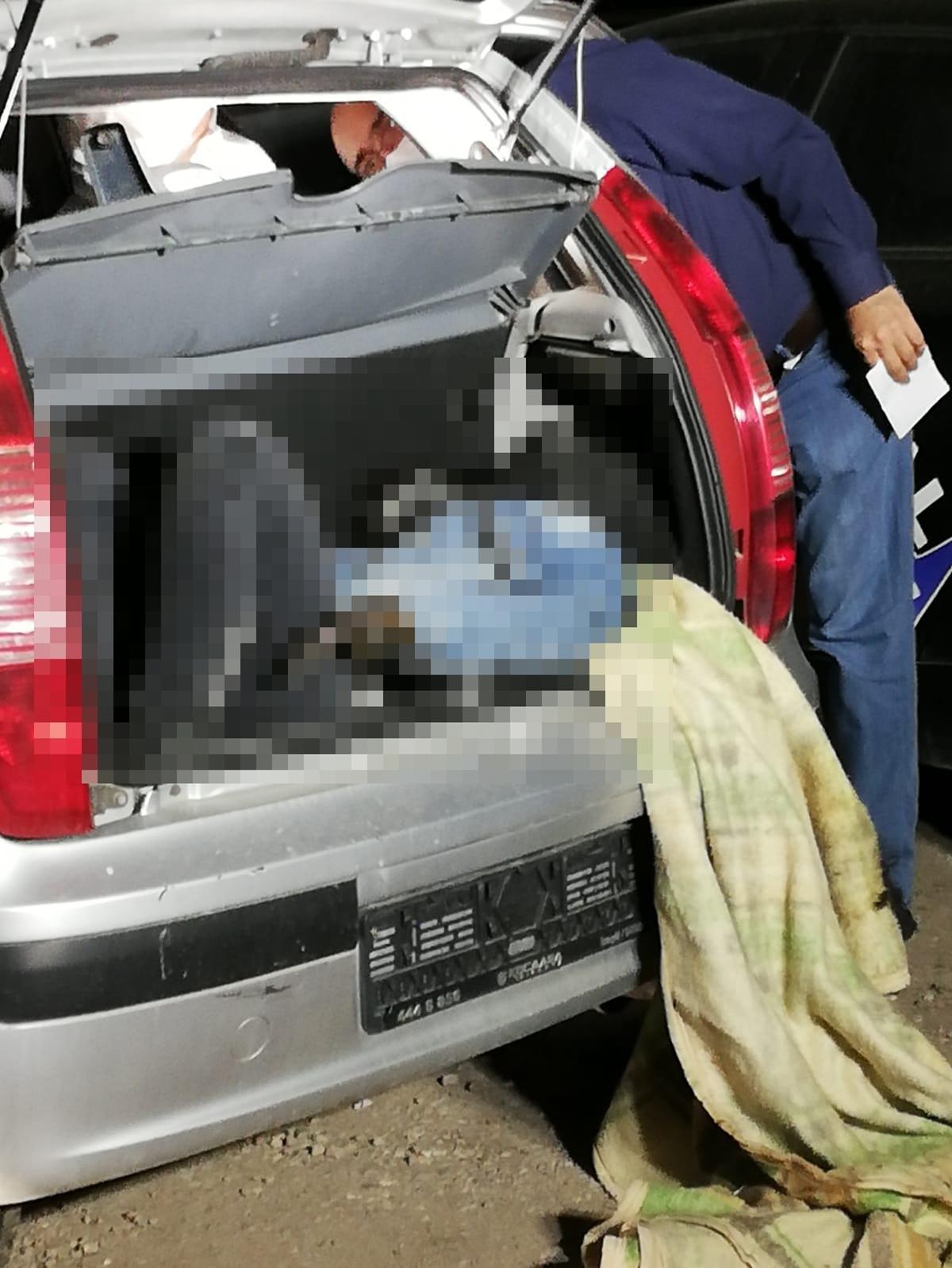 Kan donduran cinayet: Cesedi, otomobilinin bagajında bulundu