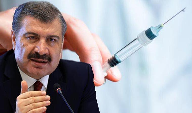 Bakan Koca açıkladı: 3. doz yerli aşıyla yapılacak