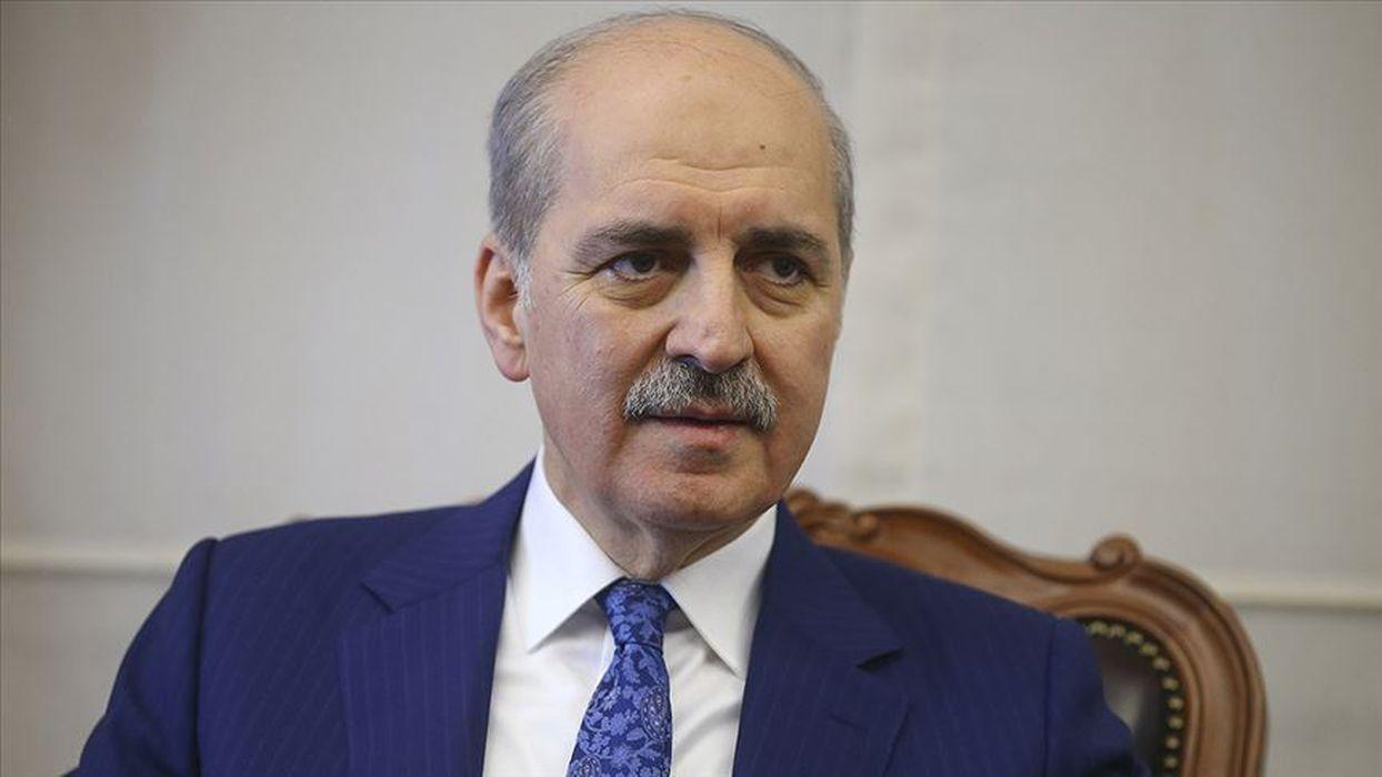 Numan Kurtulmuş: Bütün dünya sussa Türkiye susmayacaktır