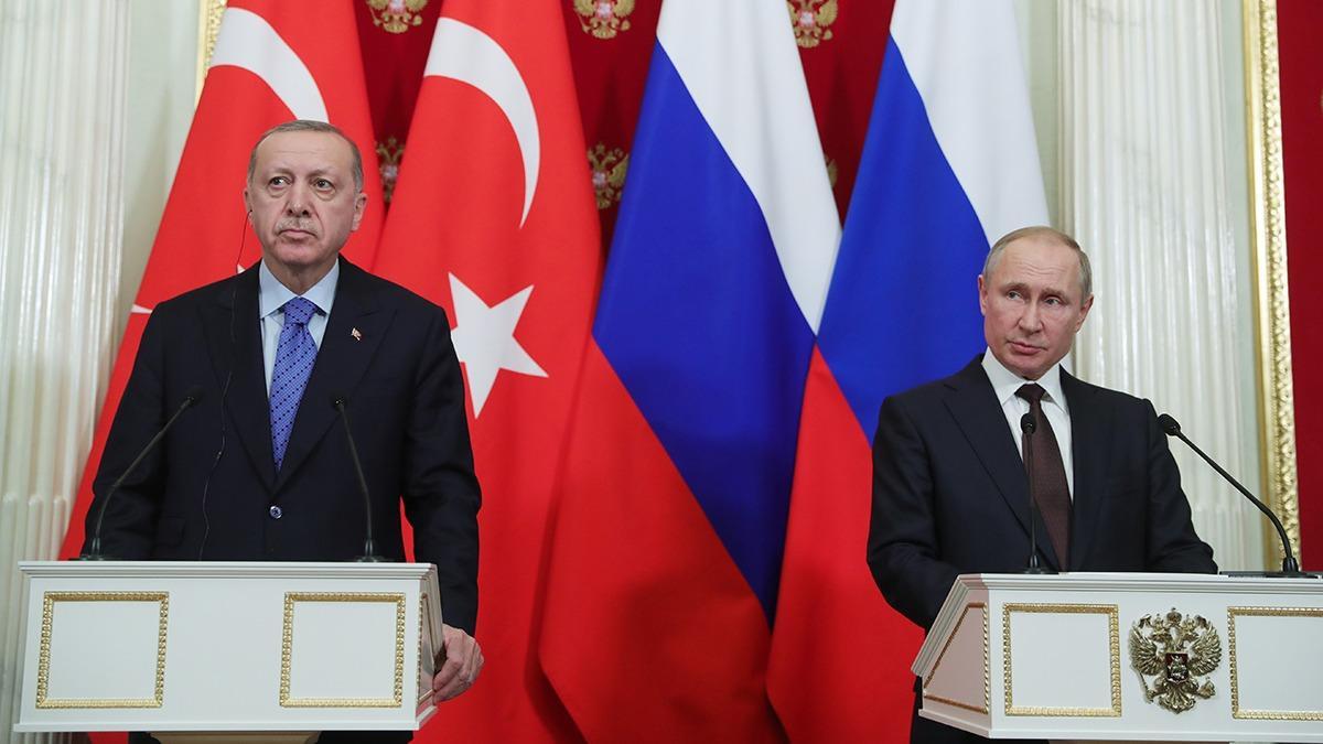 Başkan Erdoğan, Rusya Devlet Başkanı Putin ile telefonda görüştü