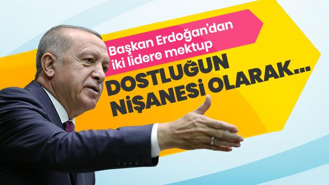 Başkan Erdoğan'dan İspanya ve İtalya'nın Başbakanlarına mektup