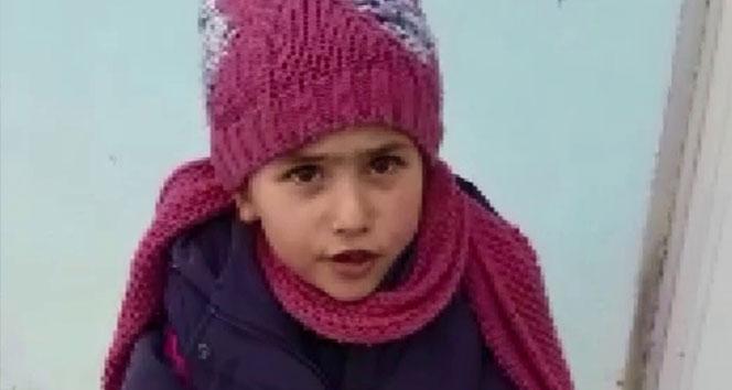 Erzurumlu küçük Miray'ın virüs önlemi izleyenleri gülümsetti