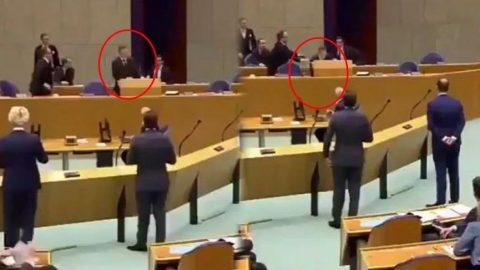 Hollanda Sağlık Bakanı Bruins, koronavirüs oturumunda bayıldı