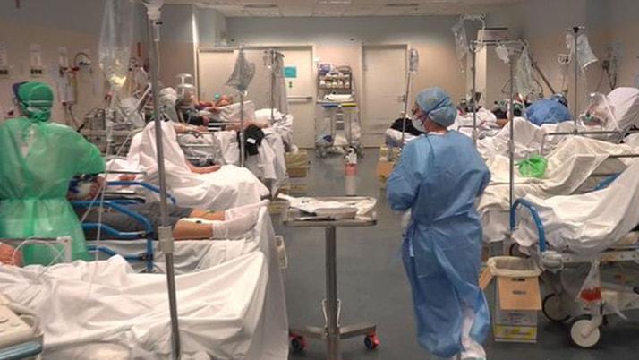 İlk kez yayınlandı! Hastaneden kan donduran görüntüler!