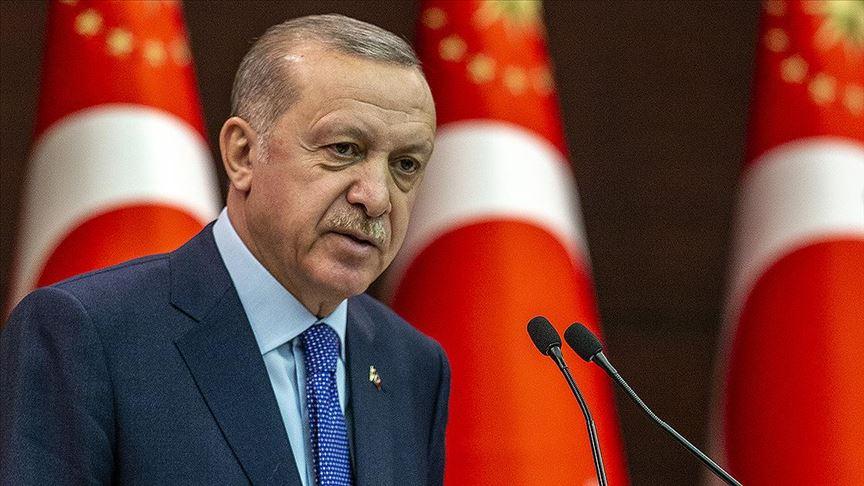 Başkan Erdoğan'dan koronavirüs açıklaması: Tüm kurum ve kuruluşlarımızın çalışmalarını yakından takip ediyor
