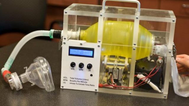 MIT, maliyeti 100 doların altında olacağı belirtilen solunum cihazı geliştirdi