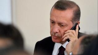 Başkan Erdoğan Rusya Devlet Başkanı Putin ile telefonda görüştü
