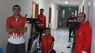 Milli sporcular karantina altında