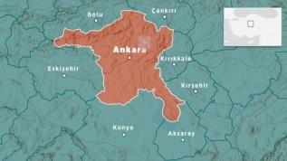 Ankara'nın Çubuk ilçesinde 3.8 büyüklüğünde deprem meydana geldi