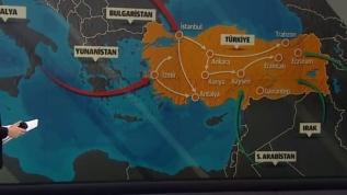 Koronavirüs ülkemize nasıl geldi? İşte Türkiye haritası üzerinde virüsün yayılma grafiği