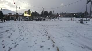 Nisan ayında kar sürpriz!
