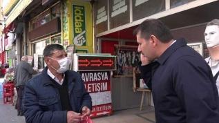Sivas'ta sokağa çıkma yasağını delen yaşlı adam Vali'ye yakalandı