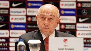 TFF Başkanı Nihat Özdemir'den açıklama