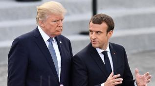 Trump ve Macron telefonda görüştü