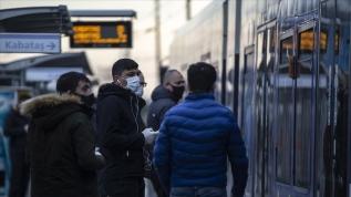 İstanbul'da maske kontrolü