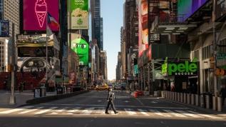 New York'ta koronavirüs vaka sayısı 100 bini geçti