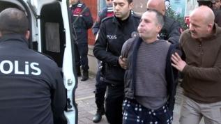 Sevgilisini rehin alan şahıs, 'koronavirüslüyüm' deyip polislere tükürmüştü! Tutuklandı