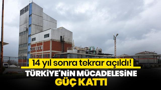 14 yıl sonra tekrar açıldı! Türkiye'nin mücadelesine güç kattı