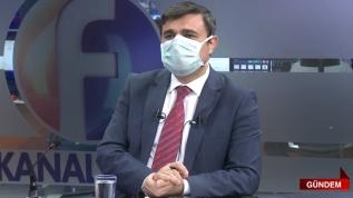 Elazığ'da maskeyle canlı yayın