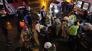 Esenyurt'ta korkutan trafik kazası