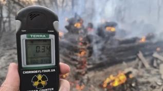 Çernobil'de tehlike 16 kat büyüdü